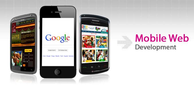 mobile-web-development india