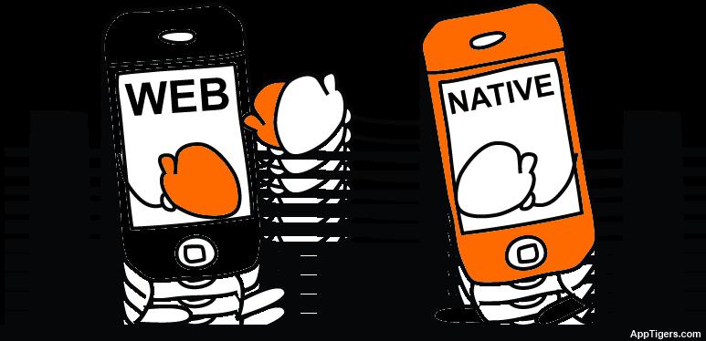 Native or web app mobile application development