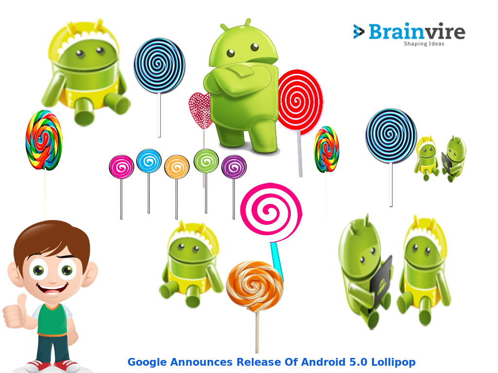 Google Announces Release Of Android 5.0 Lollipop