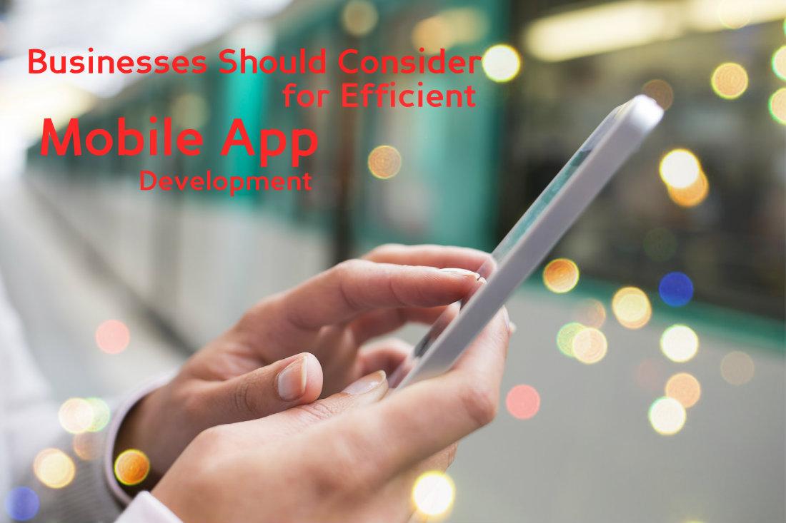 Efficient Mobile App Development