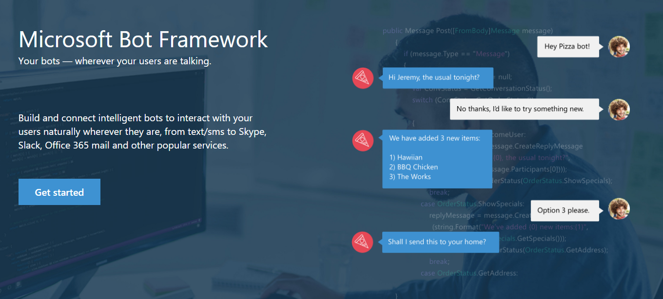 Build Interactive Bots for Your Business with Microsoft Bot Framework