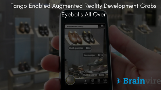Tango Enabled Augmented Reality Development