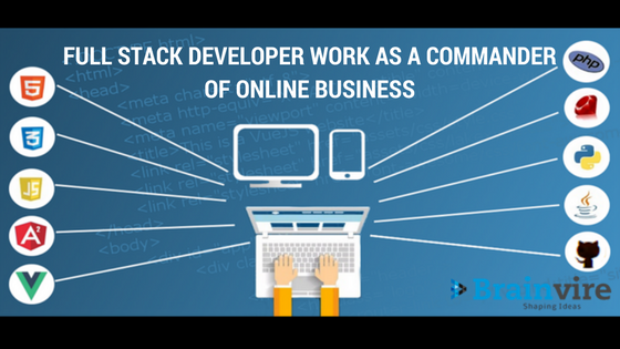Full Stack Developer Work as A Commander for Online Business