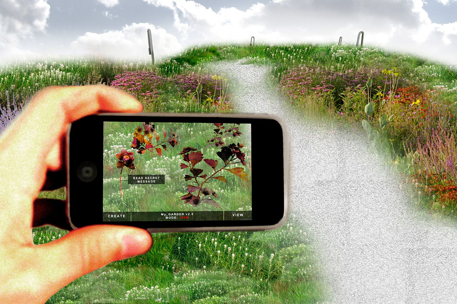 Reinventing the Concepts of Gardening with Augmented Reality