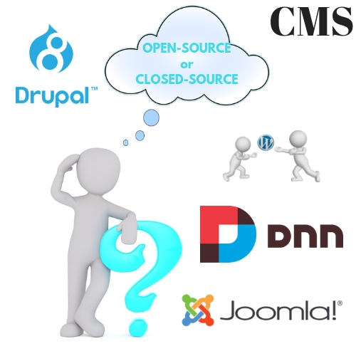 Open-source or Closed-source: Choose The Right CMS For Your Business
