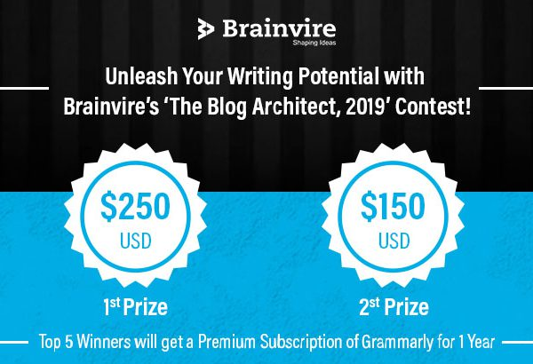 Brainvire's The Blog Architect-2019