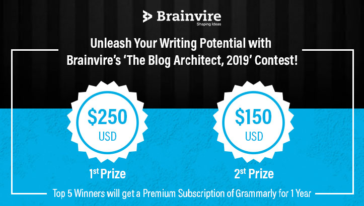 Unleash Your Writing Potential with Brainvire's 'The Blog Architect, 2019' Contest!