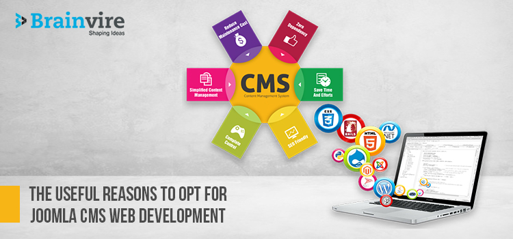 The Useful Reasons to Opt for Joomla CMS Web Development