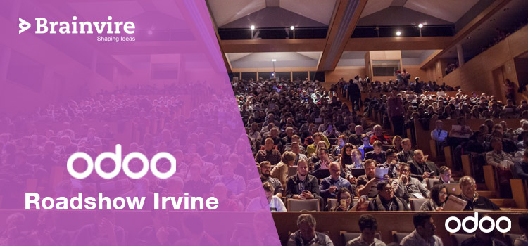 Brainvire to Be Part of the ODOO Roadshow Irvine!