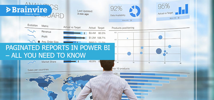 Paginated Reports In Power BI – All You Need To Know