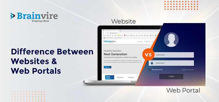 Difference Between Websites and Web Portals