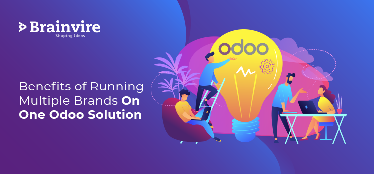 Benefits of Running Multiple Brands on One Odoo Solution
