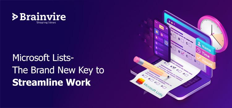 Microsoft Lists-The Brand New Key to Streamline Work