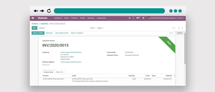 How to Integrate the Odoo WordPay Payment Gateway