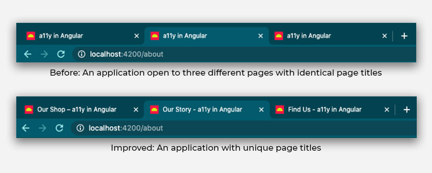 How to make an Angular application more Accessible?