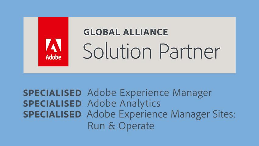 Adobe's solution partner program can help you succeed in digital marketing