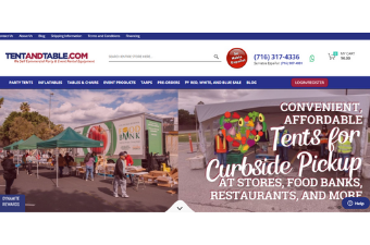 Tent & Table CRM