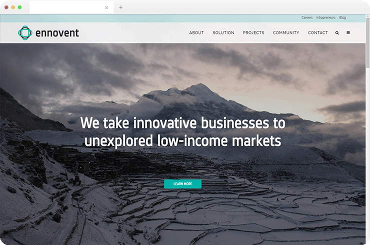 Developing A Networking Platform for a Global Innovation Company