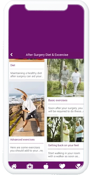 Android Mobile App For Pre Total Knee Replacement Surgery Planning & Post Surgery Care