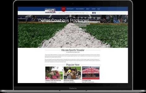 Online sports travel management