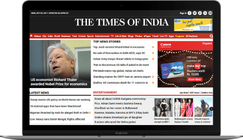 The Times Of India – ePaper Solution