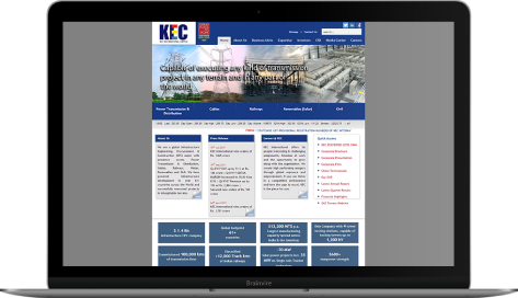 DNN based Intranet Portal for leading EPC Company