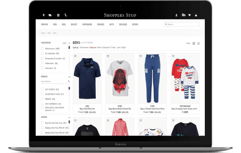 Magento Enterprise based online shop for the fashion industry in Asia