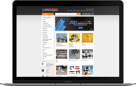 Online construction equipment store in Georgia, USA