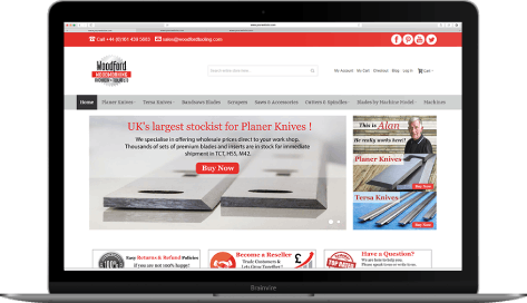 Magento based store for tools and machinery industry