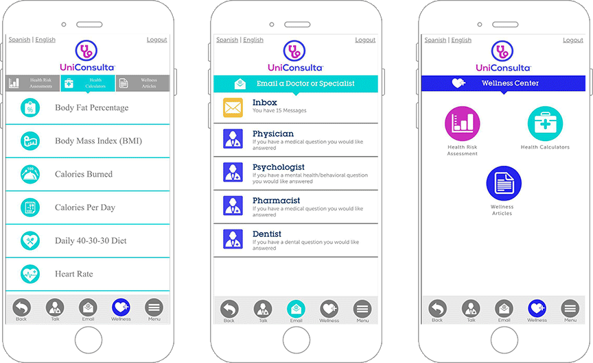 Health and Wellness App for Doctors and Patients