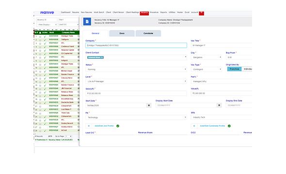 A comprehensive hiring platform