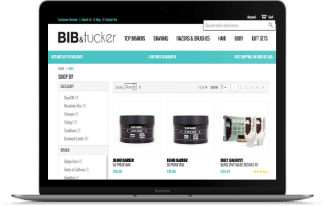USA's trending E-commerce shop for Men's grooming products