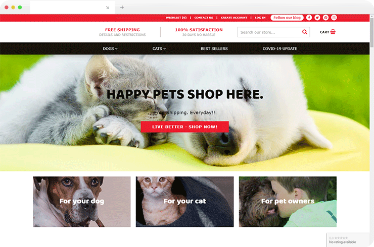 Brainvire Develops Magento-based Ecommerce Store to Improve Customer Experience for US-based Pet Products Supplier