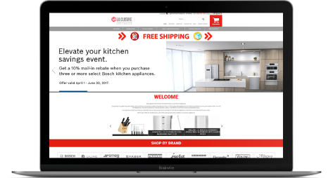 A Customized E-commerce Website for Kitchen and Culinary Appliances