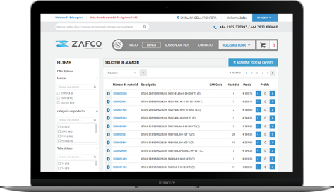 Zafco – Mobile Application