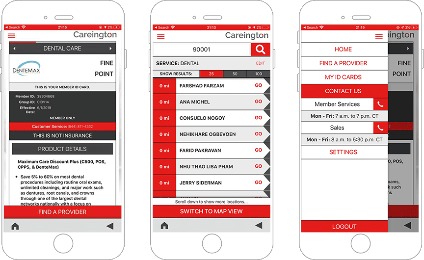 Telemedicine and Health Services providers app for Customers