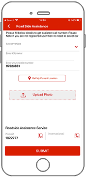 Real-Time Service booking in ERP with help of App and track service history