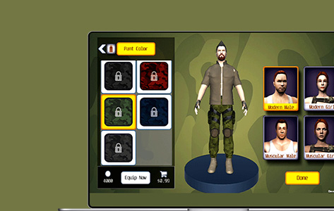 A Front-Runner Augmented Reality Game For Leading Game Studio