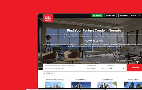 Facility Management  App For Del Rentals