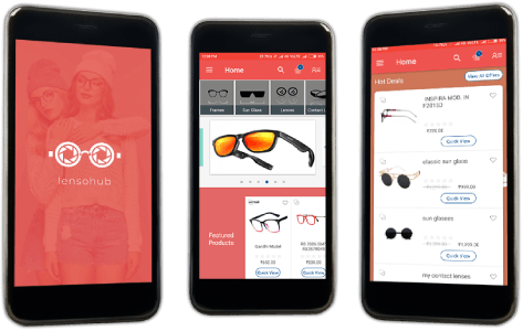 Mobile App for Asia's leading Eyewear Marketplace