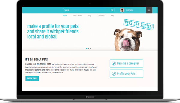 A web-based app that allows pet owners to easily search trustworthy pet care services near their location.