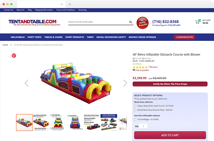 Brainvire Seamlessly Integrates Magento with Odoo ERP for a Leading Bounce House Equipment Seller
