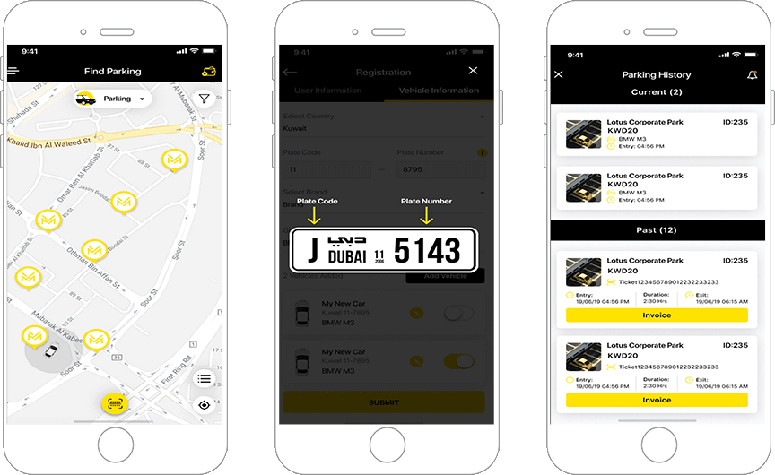 Ultramodern Vehicle Parking Application
