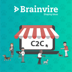 Brainvire Develops a C2C Marketplace to Bridge the Gap Between Pet Owners and Caretakers