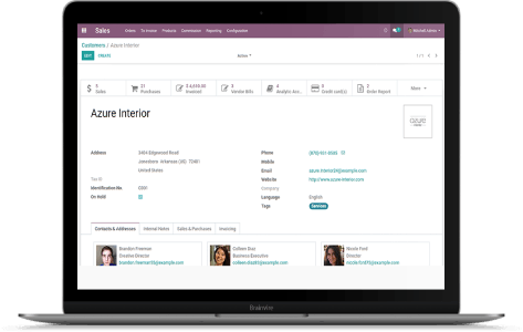 Digital Transformation from AS/400 to Odoo