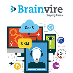 Brainvire's SaaS-based CRM Platform Will Enrich the Customer Experience of Over 100 Retail Chains Across India