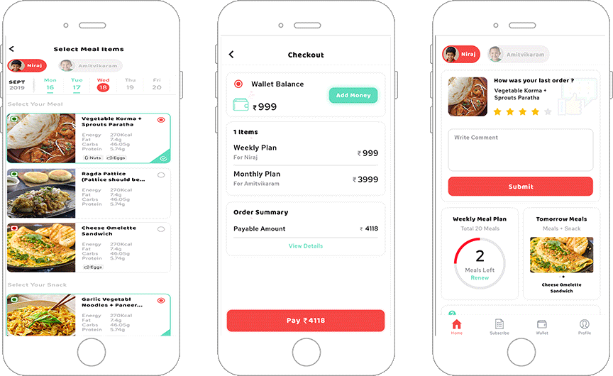 Food Delivery App for Non-Profit Organization