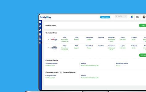 Migration of Freight Management Desktop App to Web