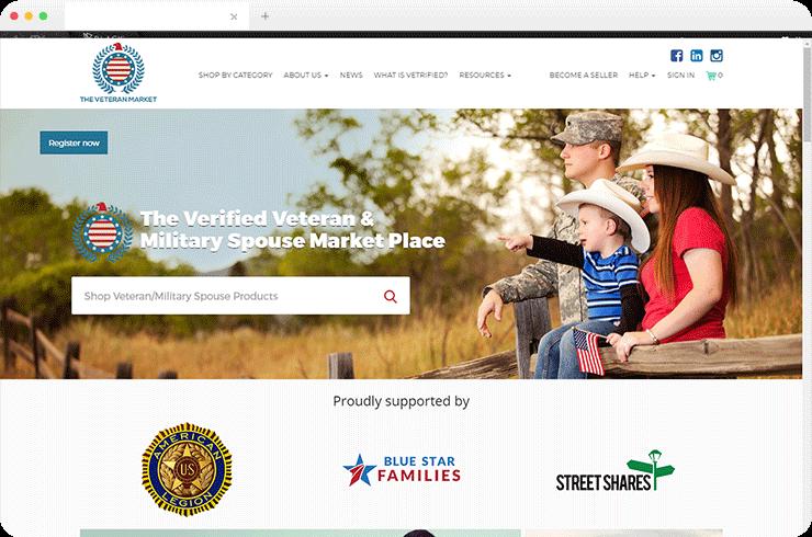 An Advanced E-Commerce Platform for Military Spouse Marketplace