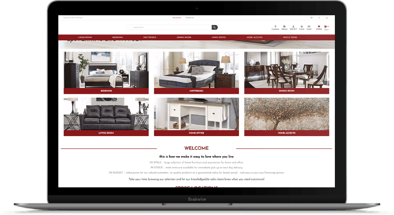 NopCommerce Solution for Home Decor Brand